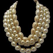 Tears of Mermaid Pearl Necklace Carolee