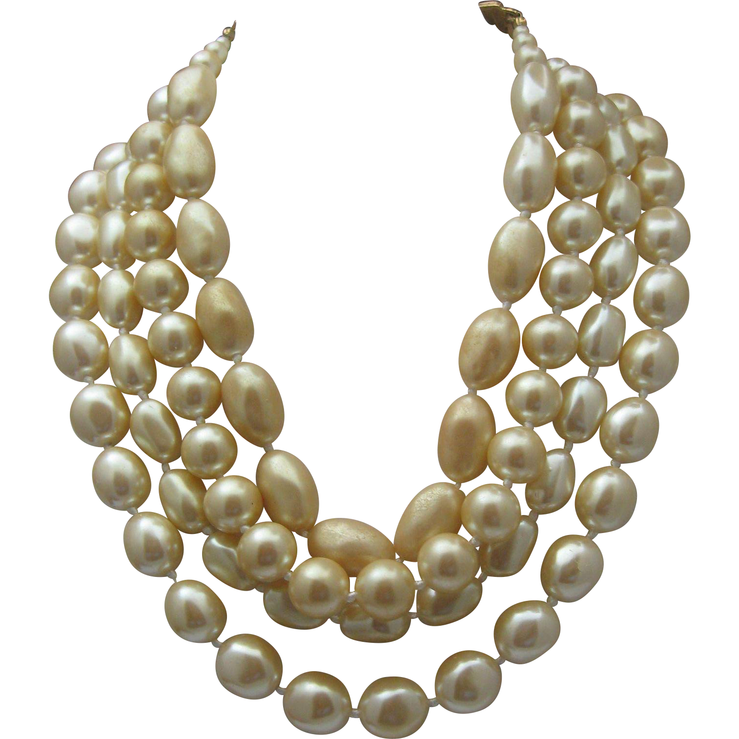 Tears of Mermaid Pearl Necklace Carolee