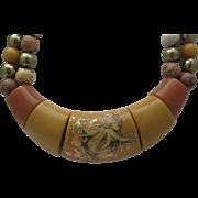 Angel Updated Bakelite Necklace