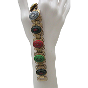 Moroccan Style Book chain Bracelet