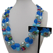 West Germany Plastic Necklace Set