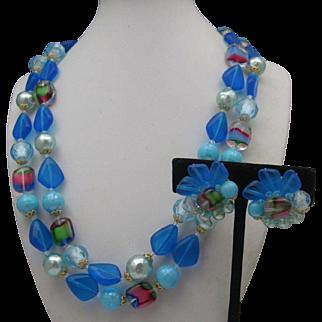 West Germany Plastic Necklace Set