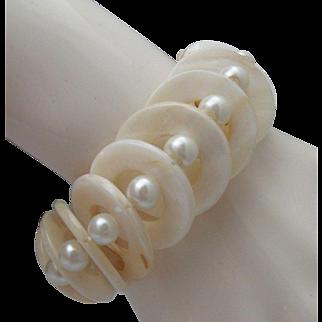 Mother Of Pearl Bracelet 1970