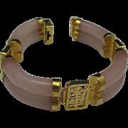 Rose Quartz Oriental Bracelet 70's