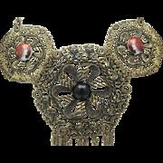 Victorian Style Bib Necklace
