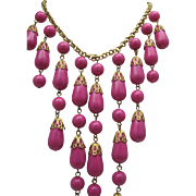 Waterfall Necklace c1970