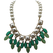 Colorful c1990 Fashion Necklace