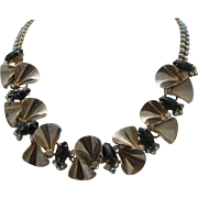 Hobe Rhinestone Necklace c1960