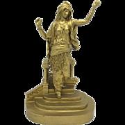BERGMAN Vienna Bronze Orientalist Figure LARGE