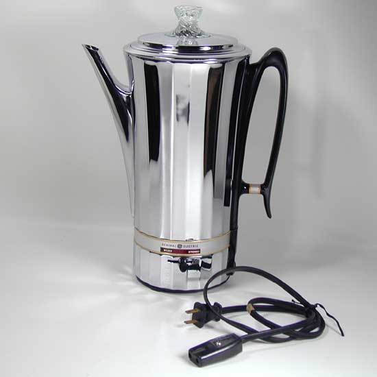 corningware 10 cup electric percolator instructions