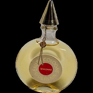 Guerlain Shalimar Eau de Cologne Still Sealed 90 ml 3.04 oz Never Opened