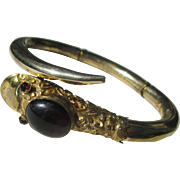 Antique Snake Bracelet ~ Victorian