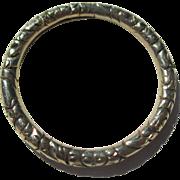 Antique Gold Split Ring ~ Georgian
