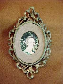 Dollhouse Miniature Picture Frame Toll House 1900 Antique