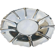 Shreve & Company Sterling Silver Fluted Serving Bowl