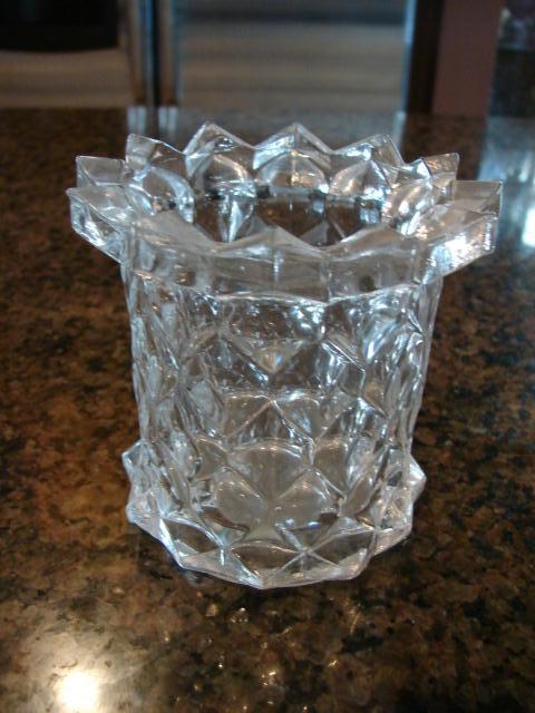 "Fostoria Glass American 3 ¾"" Spooner"