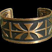 Solid Copper Cuff Bracelet
