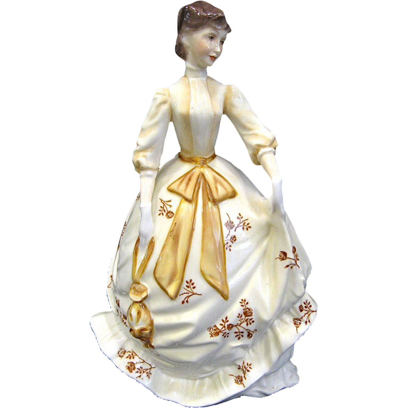 "Royal Worcester Porcelain Victoria Lady ""Charity"" Figurine 1978"