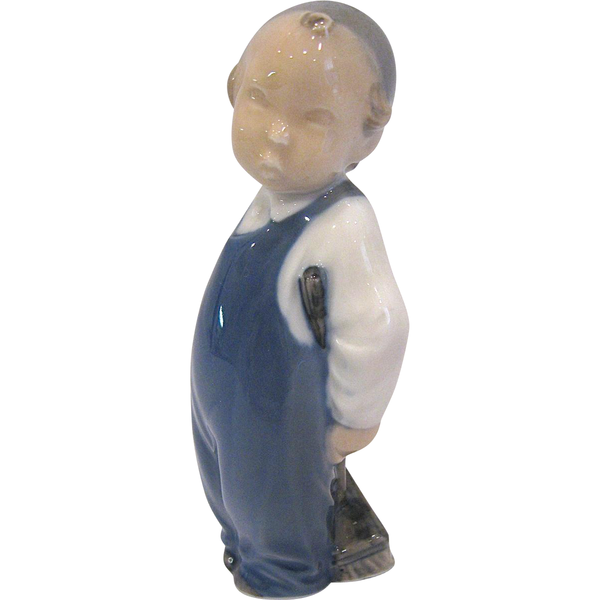 Royal Copenhagen Figurine #3250 Boy with Broom