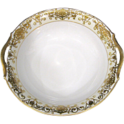 Noritake Christmas Ball 175/16034 Double Handle Bowl