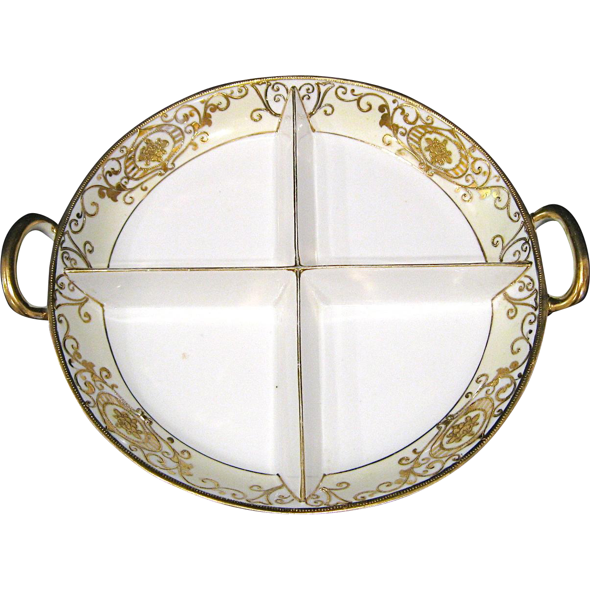 Noritake Christmas Ball 175/16034 4 Part Relish