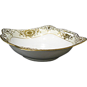 Noritake Christmas Ball 175/16034 Square Vegetable Bowl