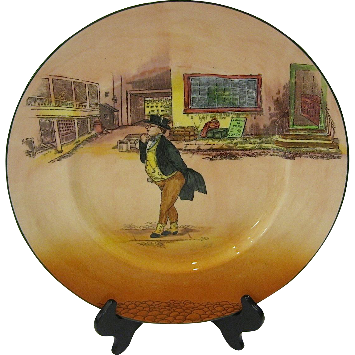Royal Doulton Dickens Ware Plate Mr. Pickwick