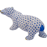 Herend Polar Bear Figurine