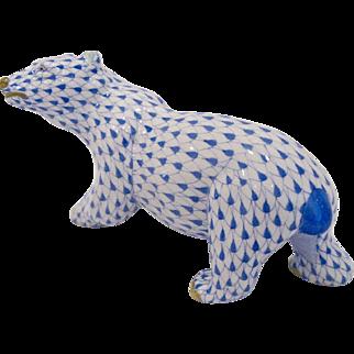 Herend Polar Bear Figurine