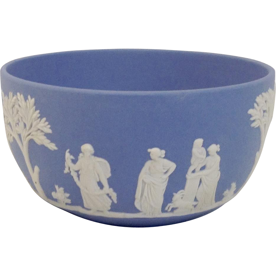 Wedgwood Blue Jasperware Bowl