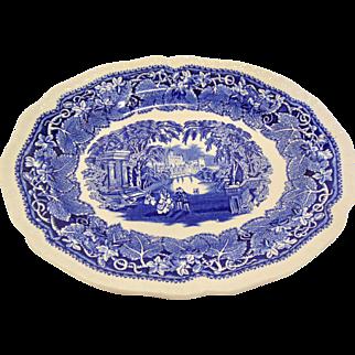Staffordshire Masons Vista Oval Platter