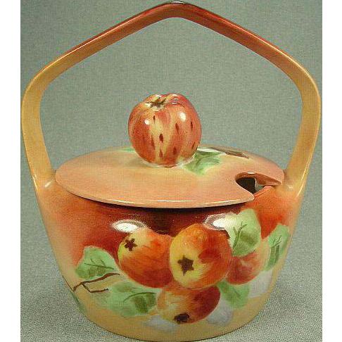 Limoges Jam Pot