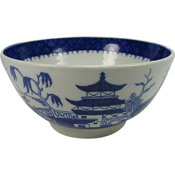 Early 1800's Mason's Ironstone Canton Bowl