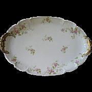 Antique GDA Haviland Limoges Oval Serving Platter