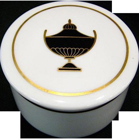 Richard Ginori Impero Trinket Box