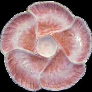 Antique Haviland Limoges Wave Oyster Plate