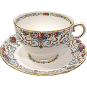 Tuscan Bone China Orleans Cup and Saucer