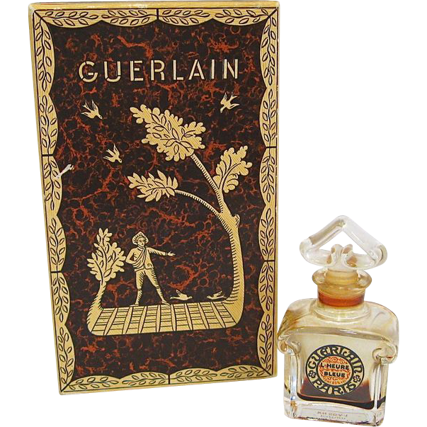 Guerlain Paris L'Heure Bleue Perfume with Original Box