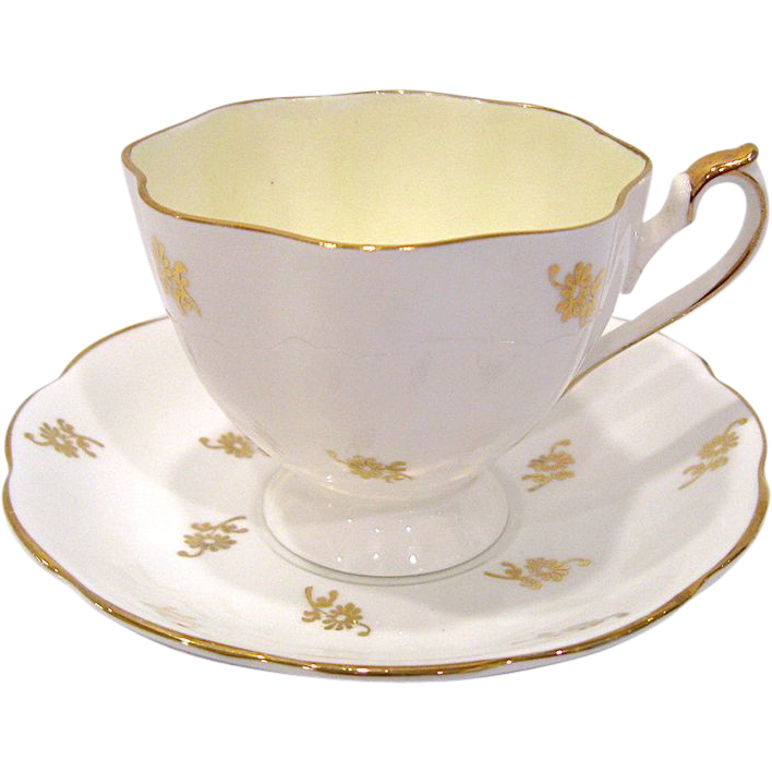 Queen Anne Fine Bone China Cup and Saucer