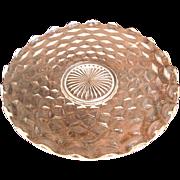 "Fostoria American 14"" Torte Plate"