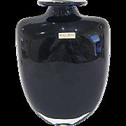 Kosta Boda Kjell Engman Amethyst Shoulder Vase