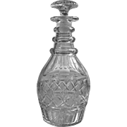 Superb c.1800 American Cut Glass Decanter