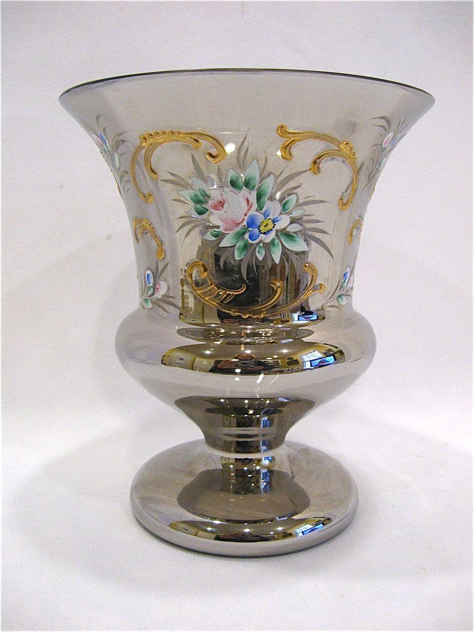 Vases Coloured Gl Art Deco Belgium The Uk S Premier Antiques