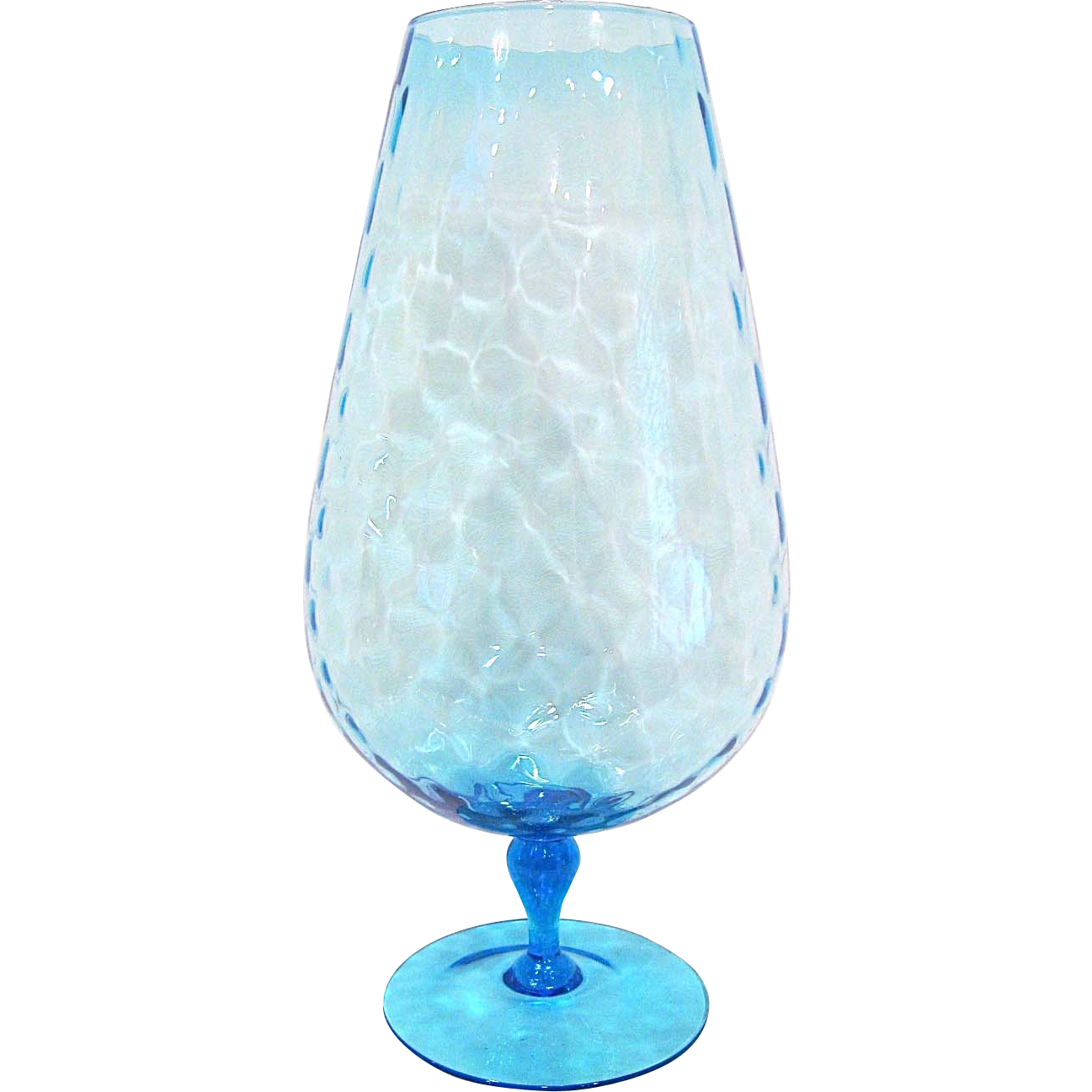 Very tall Italian Art Glass Snifter
