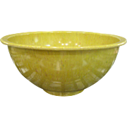 Large Texas Ware Yellow Confetti Mixing Bowl