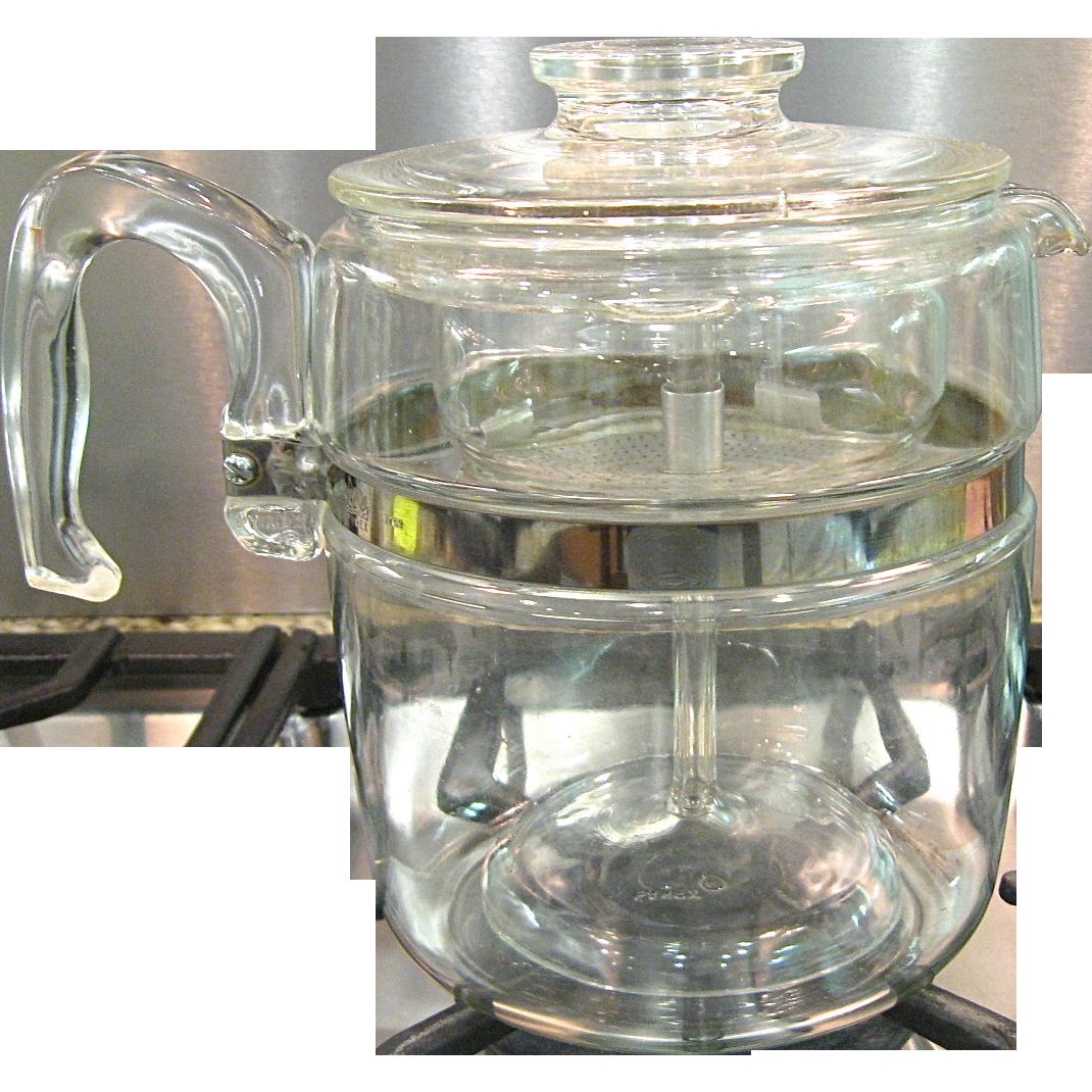 Cup Pyrex Coffee Pot