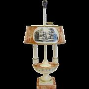 Charming Vintage Italian Bouillotte Lamp