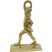 Virginia Metalcrafters Williamsburg Striding Man Door Stop