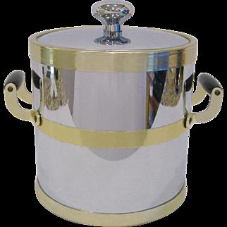 Mid Century Modern Kraftware NYC Ice Bucket
