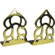 Virginia Metalcrafters Monticello Brass Bookends